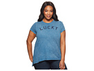 Lucky Brand Plus Size Lucky Graphic Tee