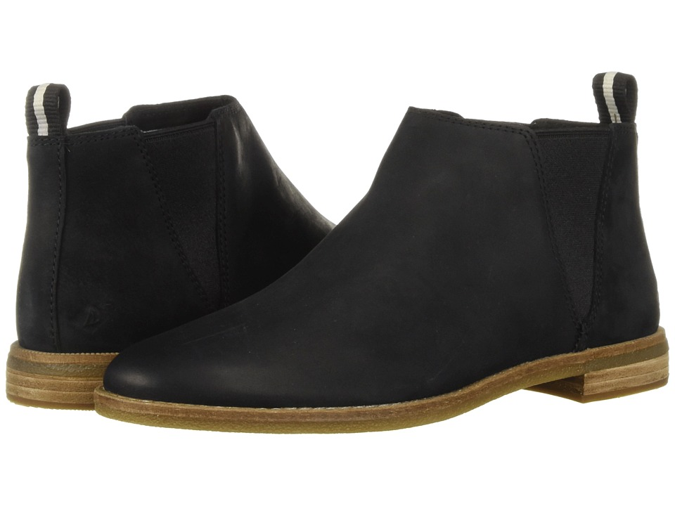 Sperry Seaport Daley Chelsea (Black) Women's  Boots
