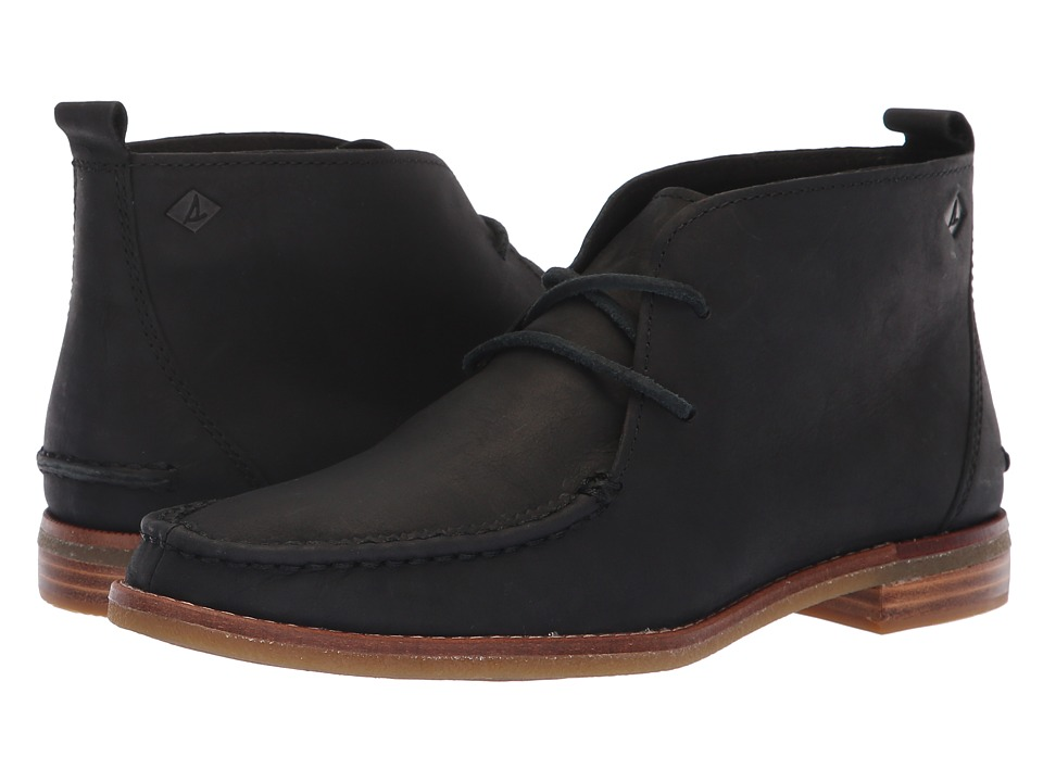 Sperry Seaport Tahoe (Black) Women's Lace-up Boots
