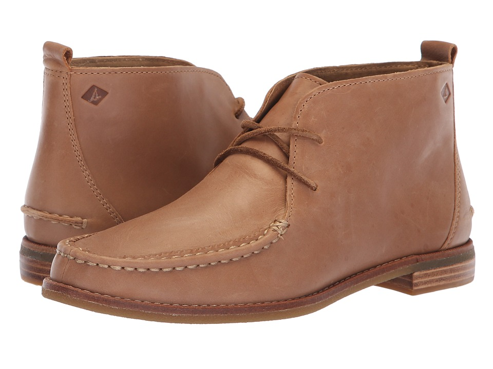 Sperry Seaport Tahoe (Tan) Women's Lace-up Boots