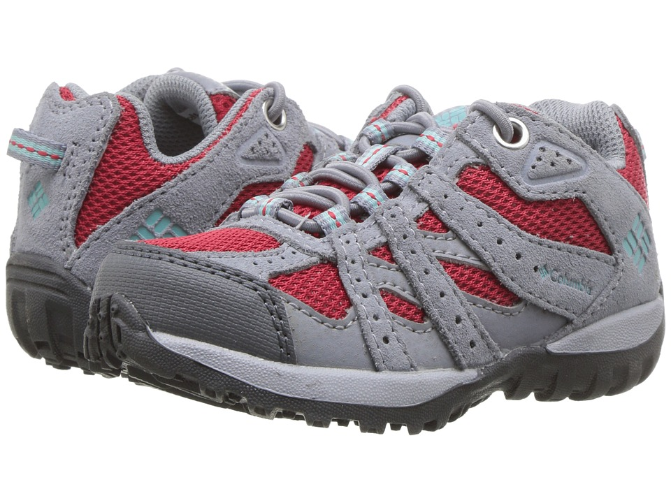 Columbia Kids Redmond (Toddler/Little Kid) (Candy Apple/Iceberg) Girls Shoes