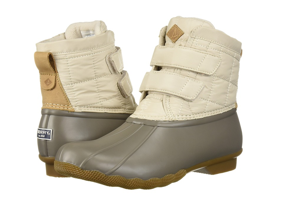 Sperry Saltwater Jetty (Off-White) Women's  Boots