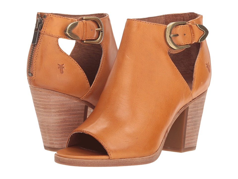 Frye Dani Cut Out Bootie (Sunrise Waxed Full Veg) Women's Dress Pull-on Boots