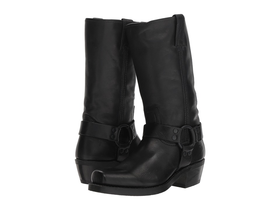 Frye Harness 12R (Black Antique Pull Up) Women's Pull-on Boots