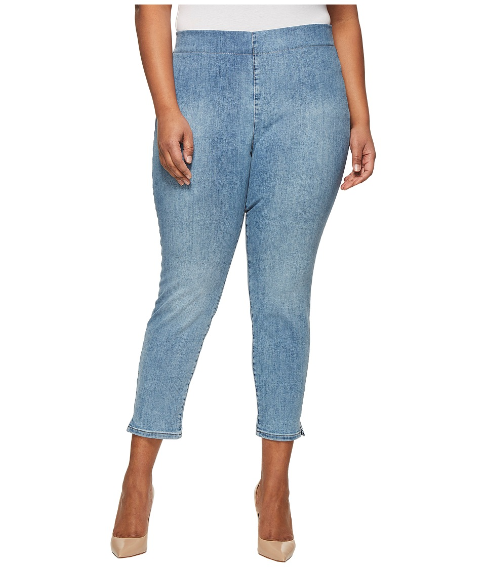 NYDJ Plus Size - Plus Size Alina Pull-On Ankle in Clean Dreamstate (Clean Dreamstate) Womens Jeans