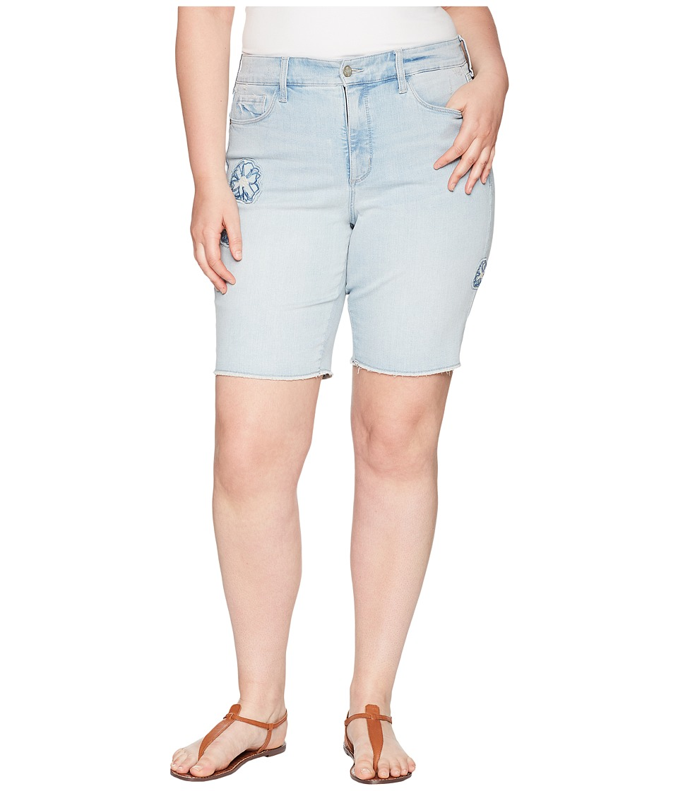 NYDJ Plus Size - Plus Size Briella Shorts Dream Blossom in Palm Desert (Palm Desert) Womens Shorts