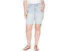 NYDJ Plus Size Plus Size Briella Shorts Dream Blossom in Palm Desert