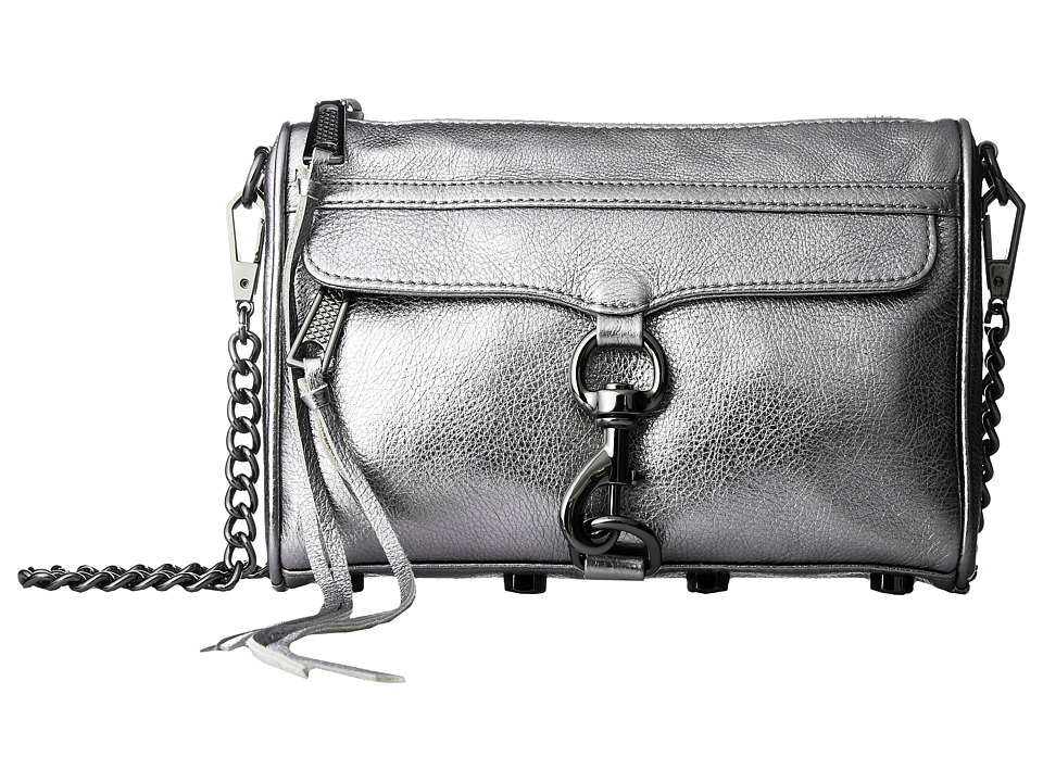Rebecca Minkoff - Mini Mac (Anthracite) Cross Body Handbags