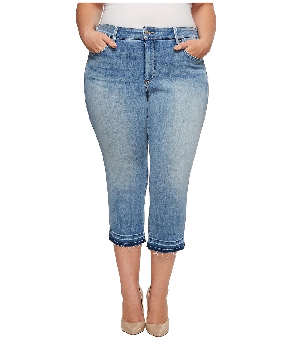 NYDJ Plus Size - Plus Size Capris w/ Released Hem in Dreamstate (Dreamstate) Womens Jeans