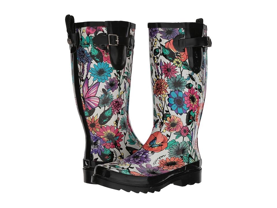 Sakroots Rhythm (Optic in Bloom) Women's Rain Boots