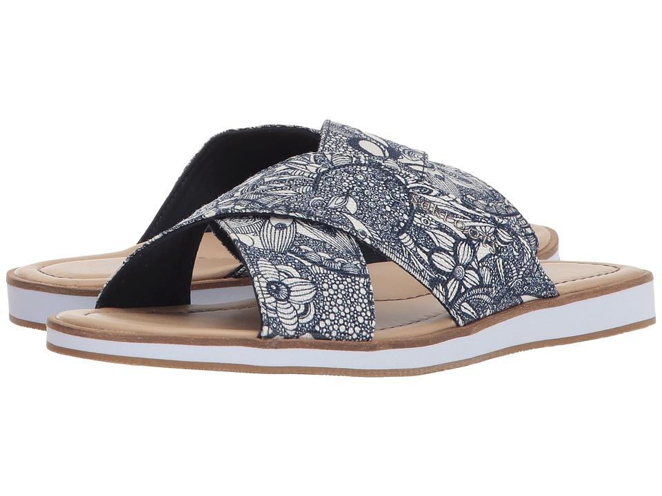 Sakroots Calypso Flip-Flop (Navy Spirit Desert) Sandals