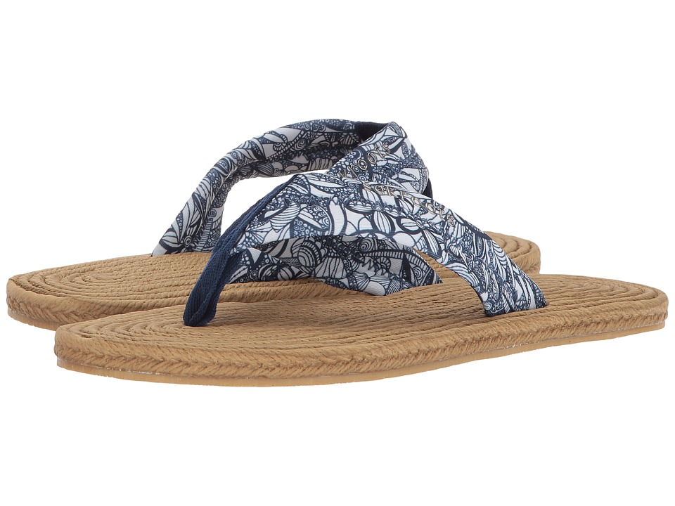 Sakroots - Elba (Navy Spirit Desert) Women's Sandals