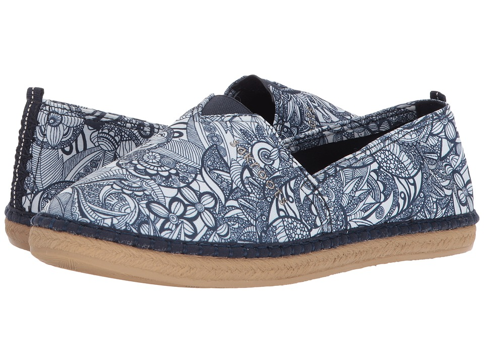 Sakroots Eton (Navy Spirit Desert) Women's Slip on Shoes