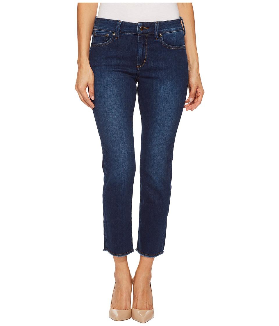 NYDJ Petite - Petite Sheri Slim Ankle w/ Fray Hem in Cooper (Cooper) Womens Jeans