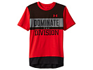 Under Armour Kids Dominate The Division Short Sleeve Tee (Big Kids)