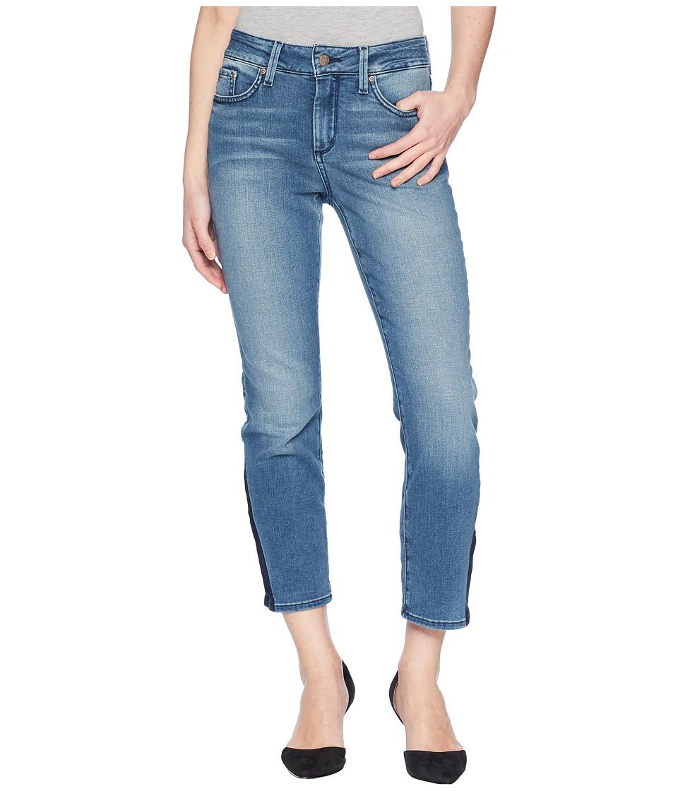 NYDJ Petite - Petite Sheri Ankle w/ Contrast Shadow in Wishful (Wishful) Womens Jeans