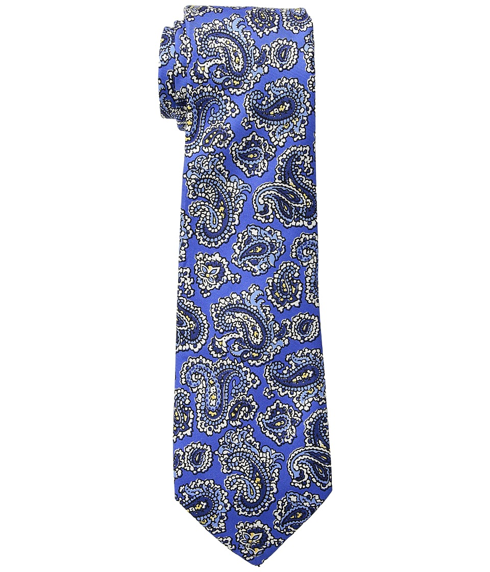 LAUREN Ralph Lauren - Small Paisley Tie (Blue) Ties