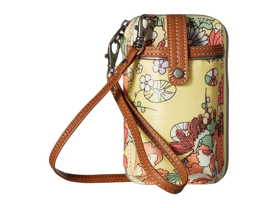 Sakroots - Artist Circle Smartphone Wristlet (Sunlight Flower Power) Wristlet Handbags