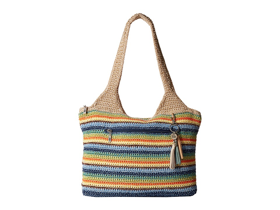 The Sak - Casual Classics Large Tote (Malibu Stripe) Tote Handbags