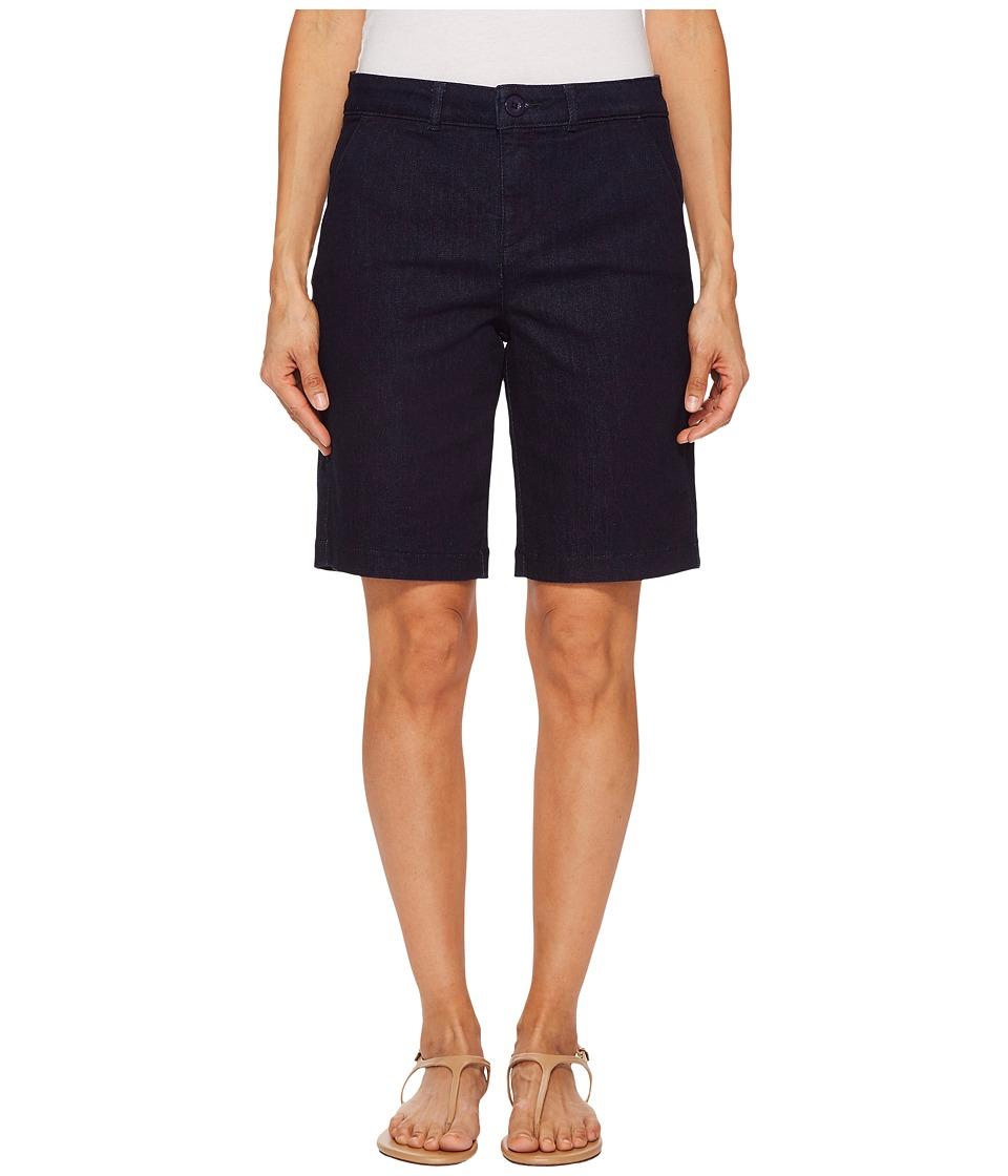 NYDJ Petite - Petite Bermuda Shorts in Rinse (Rinse) Womens Shorts
