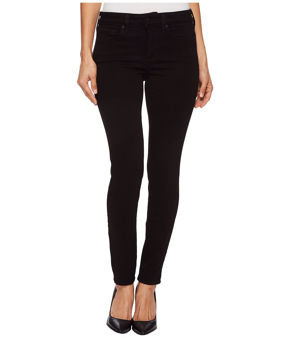 NYDJ Petite - Petite Ami Skinny Leggings in Black (Black) Womens Jeans