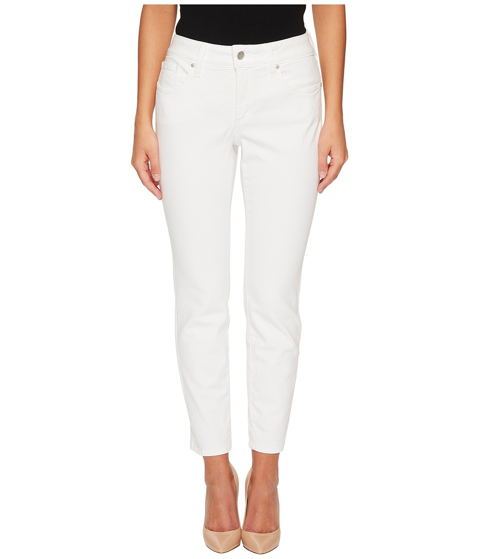 NYDJ Petite - Petite Alina Ankle Twill (Optic White) Womens Jeans