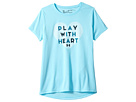 Under Armour Kids UA Play with Heart Short Sleeve Tee (Big Kids)