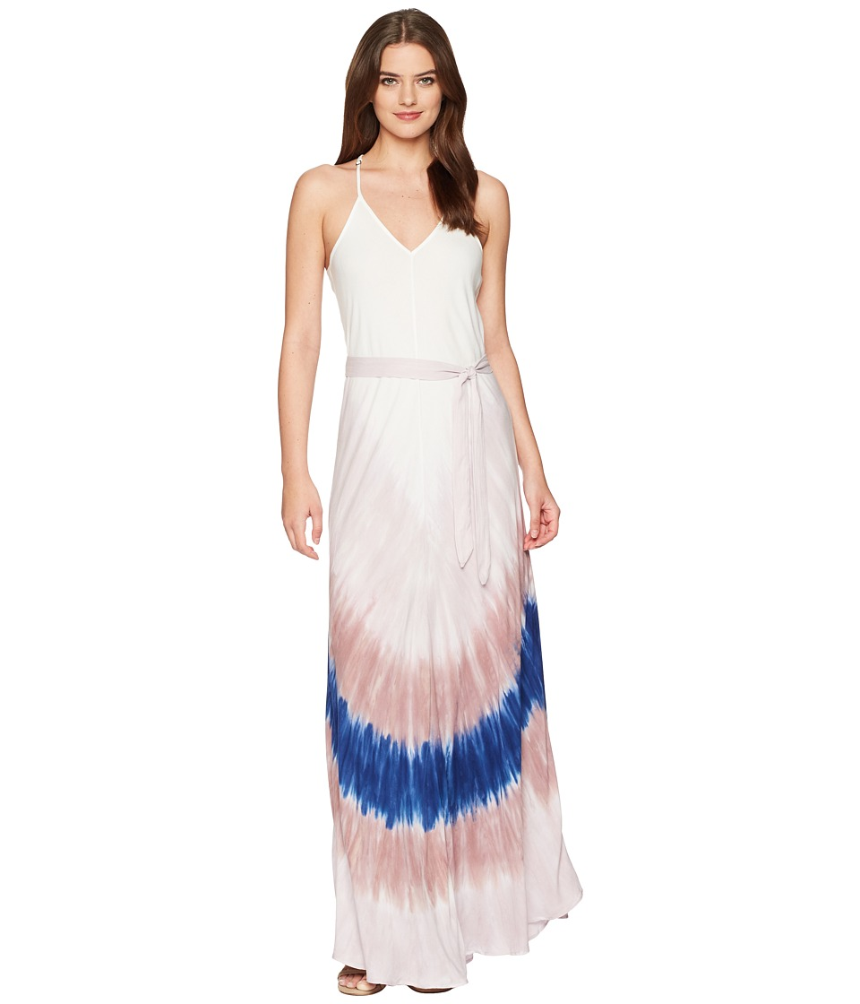 Young Fabulous & Broke - Carla Maxi (Teak Rainbow) Womens Dress