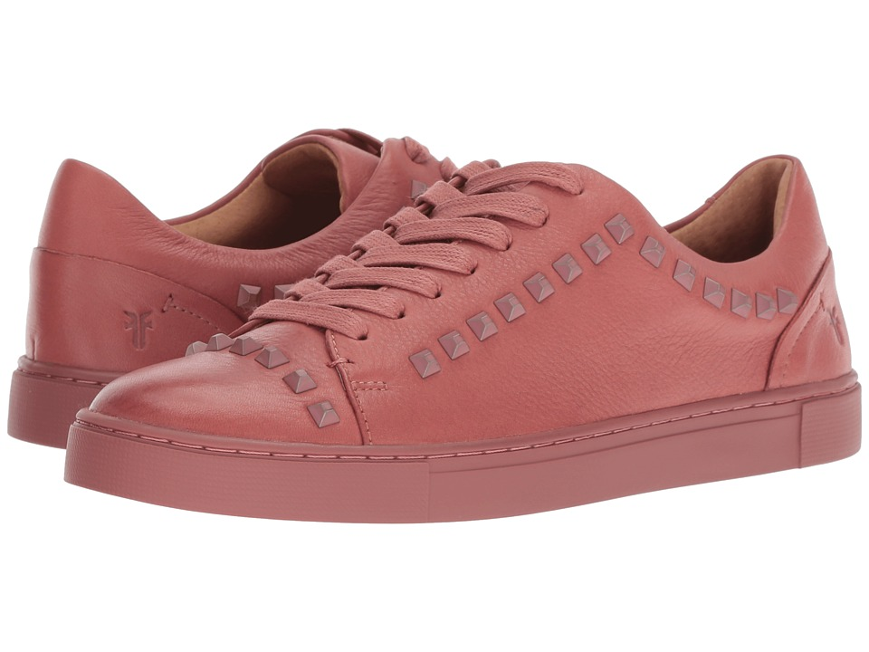 Frye Ivy Deco Stud Low Lace (Salmon Soft Full Grain)