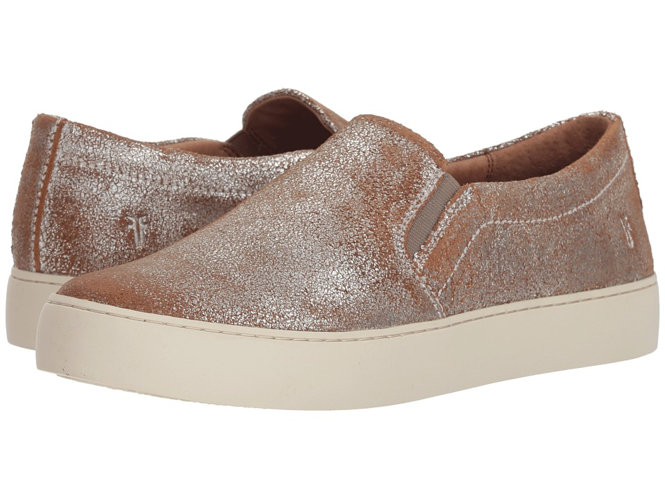Frye Lena Slip-On (Silver Multi Brushed Metallic) Slip-On Shoes