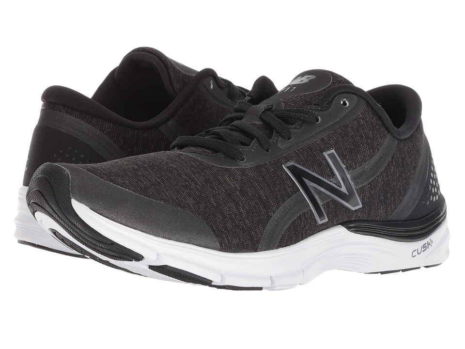 New Balance WX711v3 Training (Black/Black Metallic) Women's Cross Training Shoes