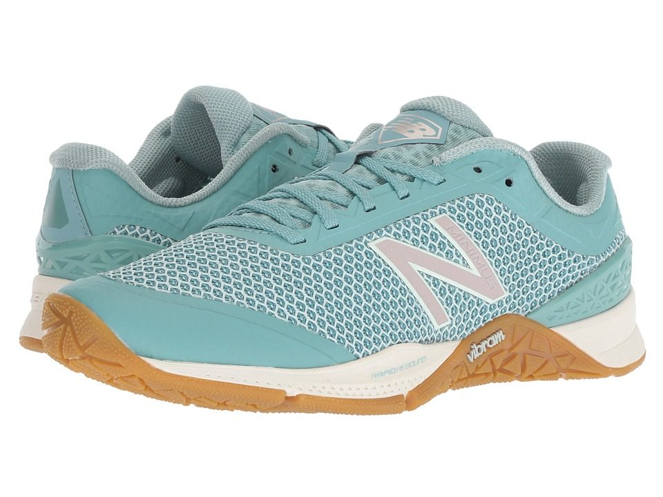 New Balance WX40v1 Training (Ocean Air/Mineral Sage) Women's Cross Training Shoes