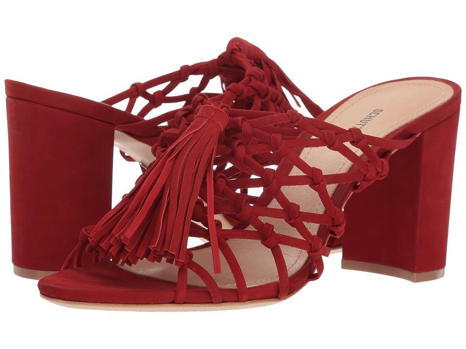 Schutz Emily (Tango Red) Women's Dress Sandals