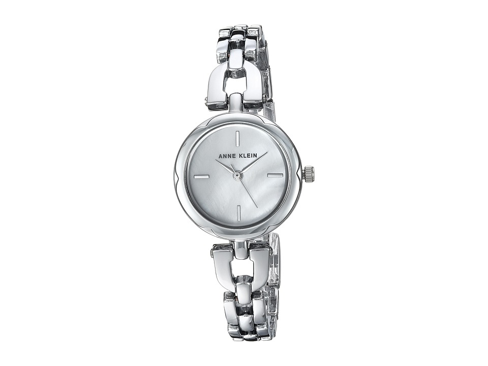 Anne Klein - AK-3173MPSV (Silver-Tone) Watches