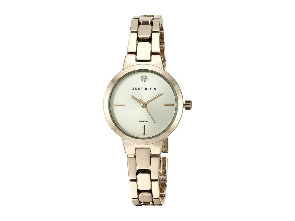 Anne Klein - AK-3234CHGB (Gold-Tone) Watches