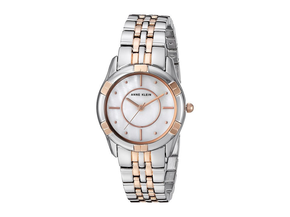 Anne Klein - AK-3171MPRT (Two-Tone) Watches