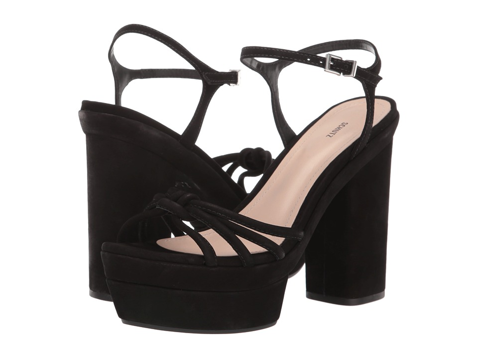 Schutz Faubina (Black) High Heels