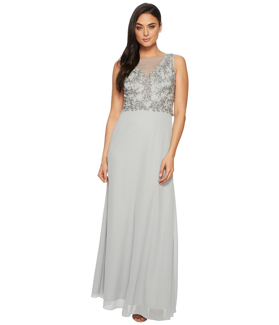 Adrianna papell dress sleeveless beaded gown   Women\'s Dresses ...