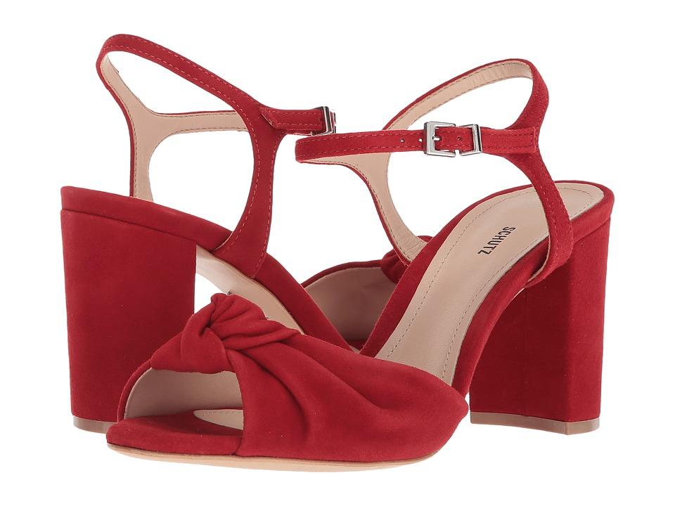 Schutz Lia (Tango Red) Women's Shoes