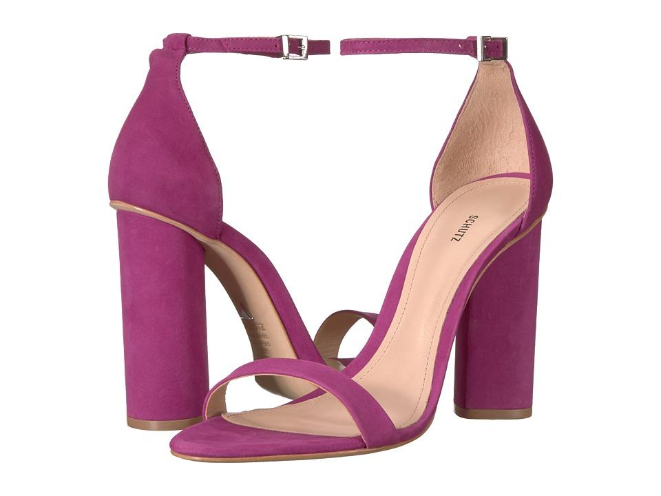 Schutz Jeannine (Grape) High Heels