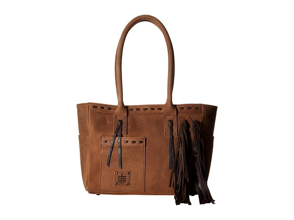 STS Ranchwear - Chaps Shopper (Tornado Brown) Handbags