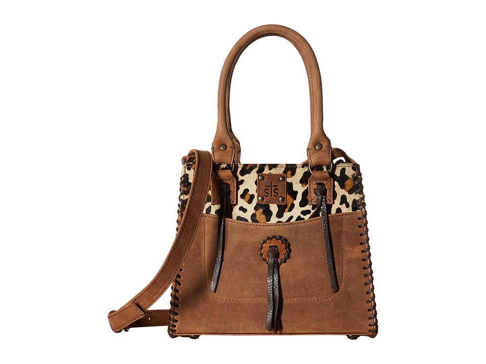 STS Ranchwear - Chaps Purse (Leopard/Tornado Brown) Walle...