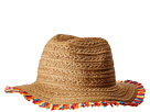 Betsey Johnson Betsey Johnson Fringe Factor Panama Hat