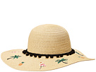 Betsey Johnson Betsey Johnson Flamingo Floppy Hat