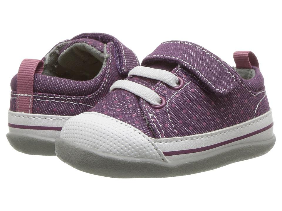 See Kai Run Kids Stevie II (Infant/Toddler) (Purple Dots) Girl