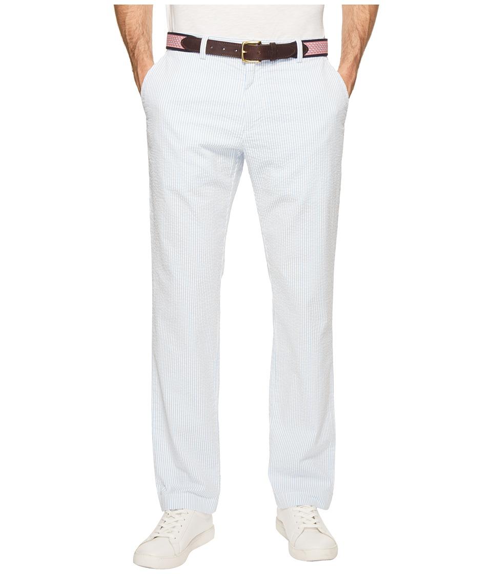 Vineyard Vines - Seersucker Breaker Pants (Ocean Breeze) Mens Casual Pants