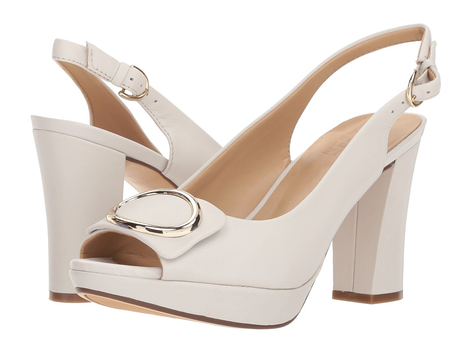 Naturalizer Abby (Alabaster Leather) High Heels