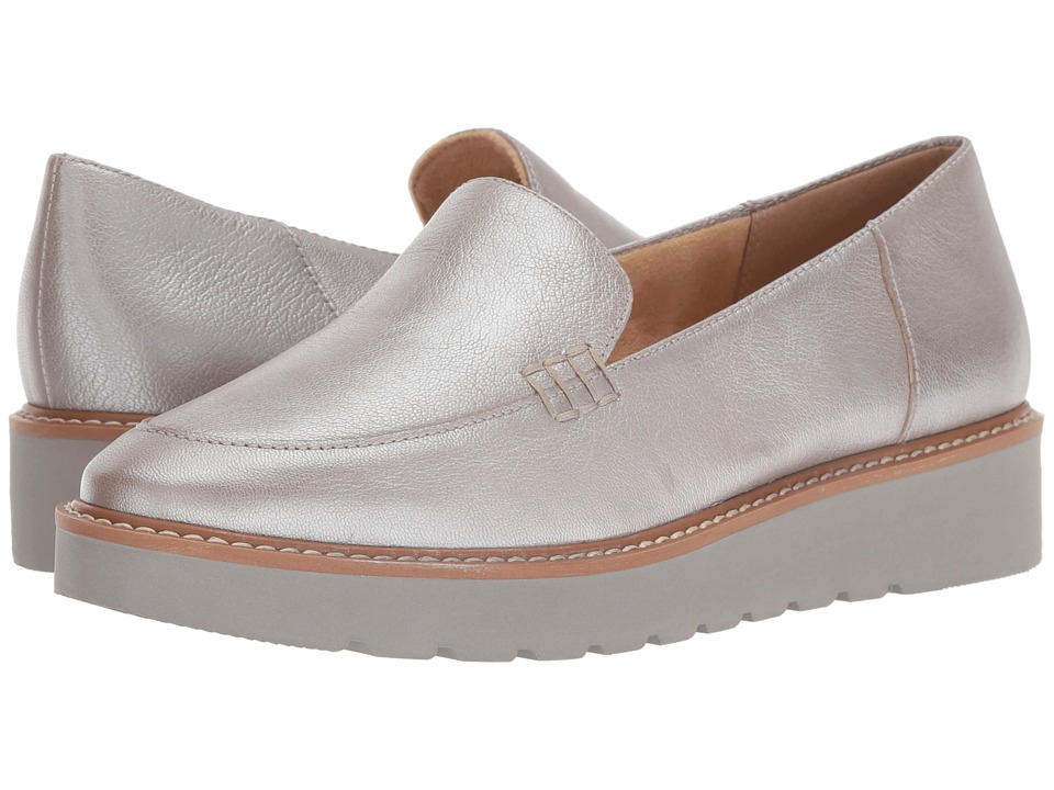 Naturalizer Andie (Silver Metallic Leather) Slip-On Shoes
