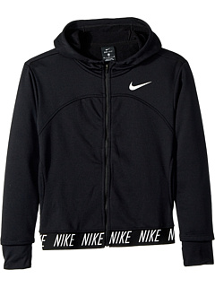 Nike Kids Dry Studio Full Zip Hoodie (Little Kids/Big Kids)