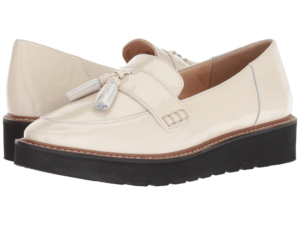 Naturalizer August (Alabaster Patent Leather) Slip-On Shoes
